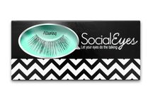 SocialEyes Lashes / SocialEyes Lashes Makers of Premium Vegan False Eyelashes. Looking beautiful should be an awesome experience. With SocialEyes Lashes, it is. Available styles from everyday natural to runway vixen, SocialEyes premium false eyelashes is sure to compliment your unique style for every occasion.  See all SocialEyes styles here => http://bit.ly/socialeyes-lashes