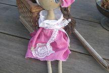 cloth art dolls / http://artistichandmade.blogspot.gr/
