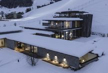 mountain architecture / hut / chalet / lodge / shelter