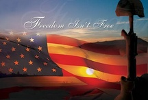 Heroes - American Military  / The Military Family is a strong bond that can't be broken. I'm so proud to be the granddaughter of a WWII, Korean. and Vietnam War Veteran !!! The wife of a Marine and the Mother of 2 Marines!!!   / by Joann Thompson