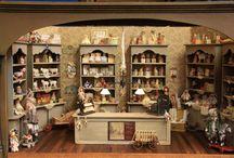 Dollhouse -Miniatures-Store-Shop