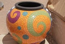 Flower pot swirl