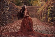 Autumn in the secret garden / fashion project by Piotr Jan Gajewski model: Kasia Zientkowska make-up: Kasia Kałek-Dekert stylist & photographer: Piotr Jan Gajewski