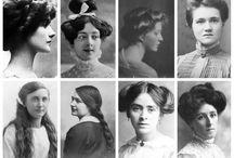 storia moda capelli dal 1900 al 2010