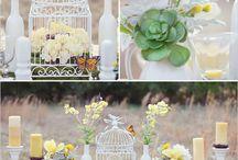 Ideas wedding/party decor