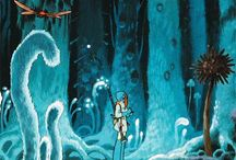 Cartoon_Miyazaki / Ghibli