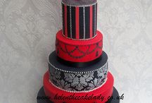 Decorated  cakes / by Donna Gallup