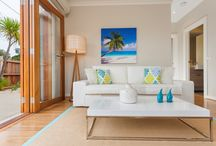 Ocean Grove Interior Styling / Premium Interior Styling; property staging of a series of units in Ocean Grove.