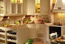 Kitchen / I love beautiful kitchen so just look for some kind of idea to built my own dream k....