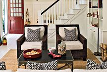 living rooms with wow factor / by Lisa Wittich