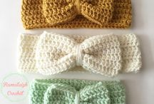 Crochet baby girl accessories