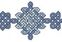 celtic knotwork cross stitch