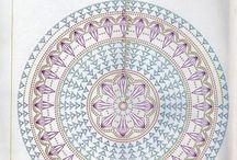 Mandala - háčkování