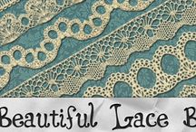 Antique lace designs