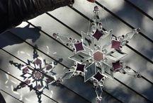 Glass Snowflake