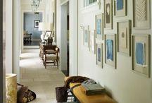 Hallways and mudrooms