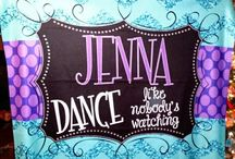 Personalized Pom and Dance Gifts / Rebelandsass@yahoo.com