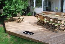 DIY Decking / ThermalWood Canada offers snap-to-it decking for quick and easy installation and no tools required! Perfect for the DIY'er!   Thermally modified using a three step process to remove sap, resins and sugars from protecting it from bacteria, mold and insects. The thermal modification process improves structural stability comparable to Teak with a 25 year warranty against decay.  #DeckIdeas #DIYDecking #Decks #Decking #BackyardProjects