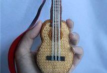 amigurumi gitár
