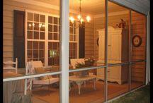screen porch / by Kathy Hyman