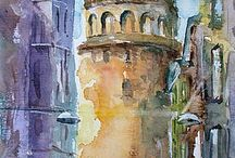 Istanbul paintings