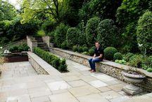 Garden Walls / Beautiful garden walls.