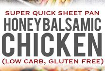 Chicken Honey Balsamic with veggies