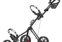 3-Wheel Golf Push Carts