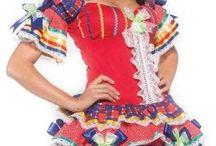 vestido Vesta junina
