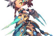 Dragonica / 캐쥬얼하면서도 부드럽고 질감성이 좋아 보여서 모으고 있는 보드입니다.시간되면 해보고 싶네요 허헣