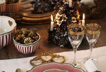 Vánoční, slavnostní stůl
