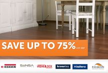 SALE SALE SALE / Get the lowest prices on laminate and hardwood flooring!