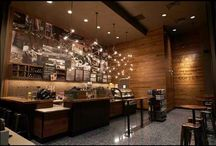 Bodner Lighting Chandeliers - Starbucks (Don Stephen Convention Center) / Ad Light fabricated these faery-like fixtures for reknown artist Jessica Bodner, for installation at the Donald Stephen Convention Center Starbucks (bodnerchandeliers.com/). These Bodner lighting chandeliers add an astral aspect, warming one more than just the coffee at this intimate Starbucks boutique.