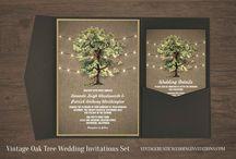 Tree Wedding Invitations and Sets