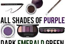 Make up grønne øyne