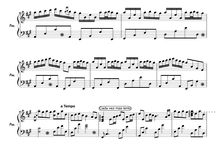 Piano music sheets