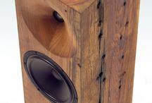 Wooden Speaker Sound System
