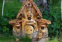 Fairy garden houses / by Maria Bertrand