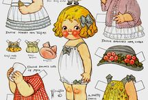 Artist ~ Dolly Dingle of Dingle Dell  & Kewpie~*~ /  Dolly Dingle & Campbell Doll ~*~