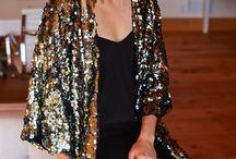 Glitter kimono