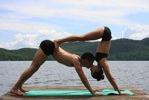 Partner yoga / Inspiradoras fotografías de momentos únicos y sensuales