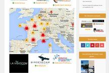 L'annuaire du #drone civil / La liste non exhaustive des prestataires, revendeurs, sociétés de prises de vues aérienne en #France #French #UAV #operators