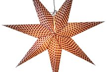 Star Lamps with White Background / As there is a wide range of Hanging Star Lamps styles, colors, design available, you are sure to find something that will be able to match your decor. One of the best things about these lamps is that they do not take up much space and yet offer the desired elegance to a room. Now a days, Star lamps demand to be increased than previous years. www.29June.com