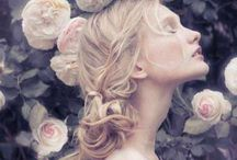 Image - Girl with flowers / by Tao Z