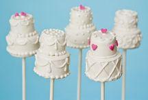 Wedding / Bridal cake pops