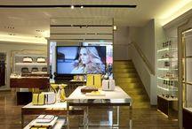 Store Furla - Milan / Glass furnishing
