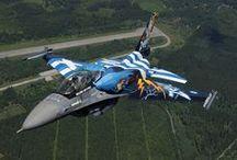 Hellenic Air Force Team Zeus Demo A-7 RF-4E