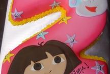 Olive birthday cake