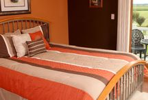 The Loft Suite / Our Loft Suite is a spacious and private getaway tucked away on the second floor. It features two queen size beds (with Select Comfort mattresses), generous sitting area with sofa and lounge chair, full private bath, writing desk, plenty of storage space, outside balcony with table & chairs, and a second private sitting area just outside the room. Enjoy a complimentary full breakfast each morning! / by Scottish B&B