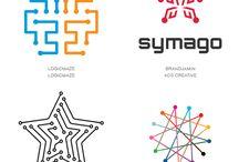 логотипы / https://logolounge.com/article/2015logotrends#.VYER7cfznbP
